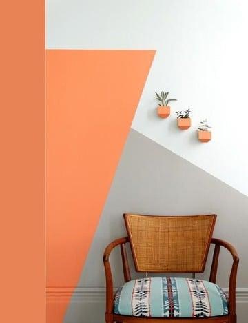 fotos de decoracion de paredes con pintura