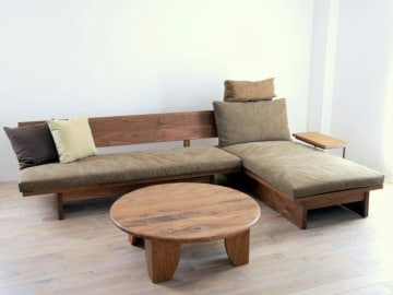 fotos de muebles de sala de madera