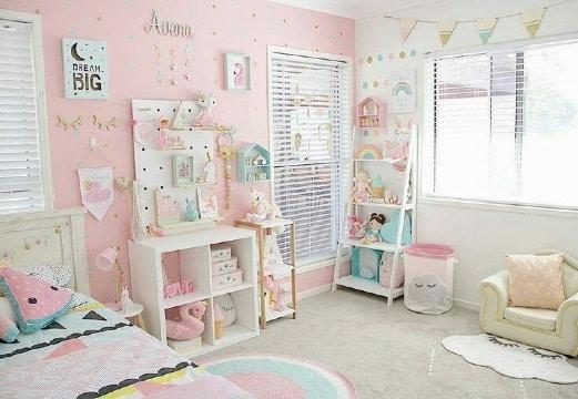 imagenes de como decorar un cuarto de niña