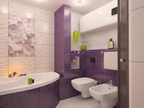 modelos de baños con ceramica de color
