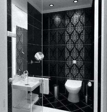 modelos de baños con ceramica elegante