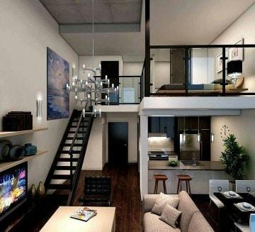 modelos de casas pequeñas por dentro y por fuera
