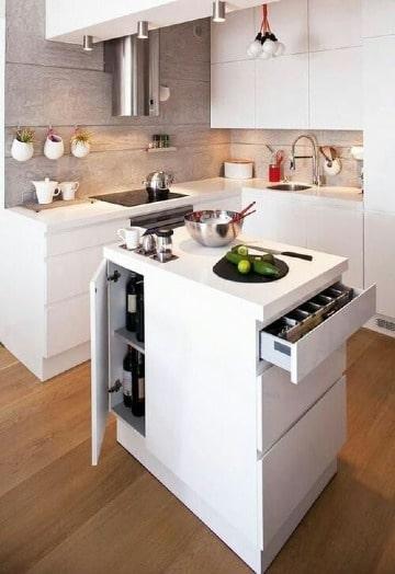 muebles para cocina pequeña moderna