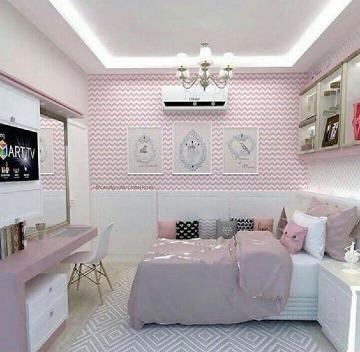 como decorar un cuarto pequeño de chica