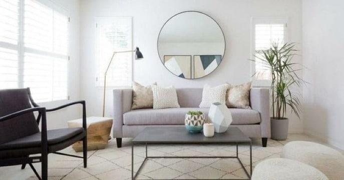 como decorar una sala sencilla y economica