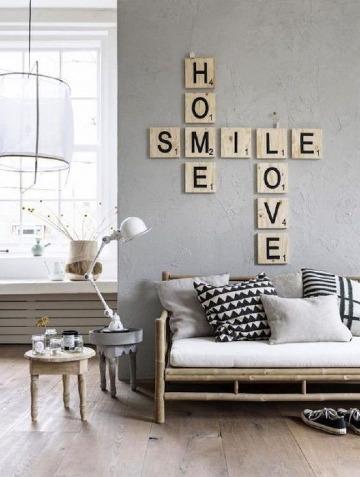 decoracion de paredes de sala pequeña