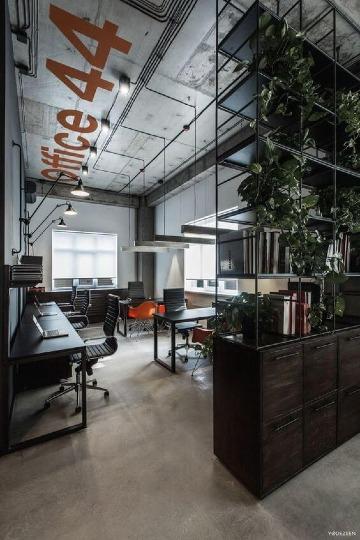 diseño de oficinas modernas amplias