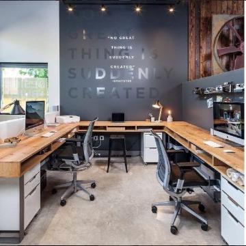 diseño de oficinas modernas y creativas