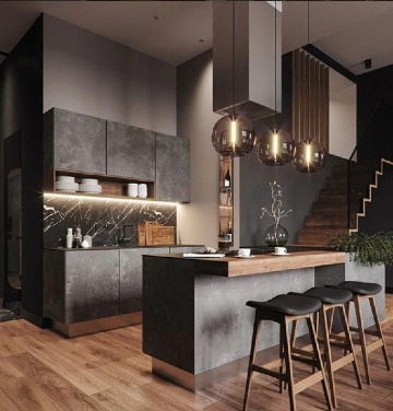 diseños de decoracion de cocinas modernas