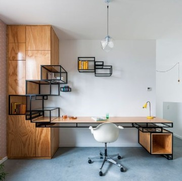 diseños de oficinas modernas pequeñas