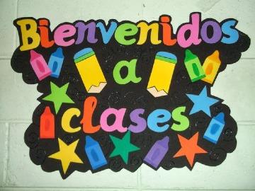 faciles carteles de bienvenida a clases