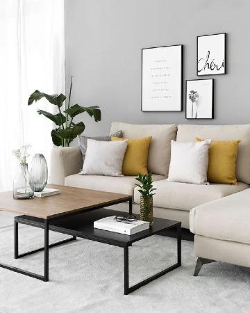 ideas de como decorar una sala sencilla