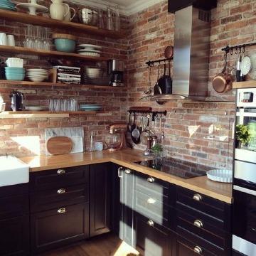 ideas de como organizar una cocina pequeña