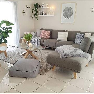 imaganes de como decorar una sala sencilla