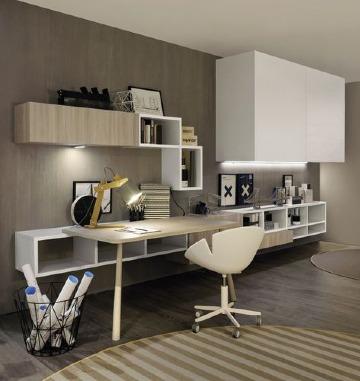 oficinas modernas pequeñas en apartamento