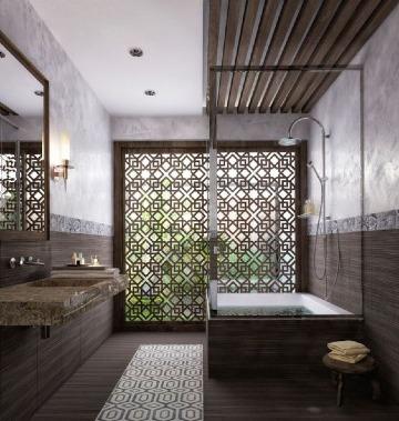 originales diseños de baños para casas