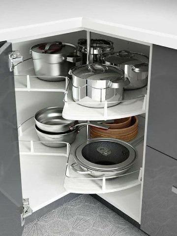 como organizar la cocina pequeña