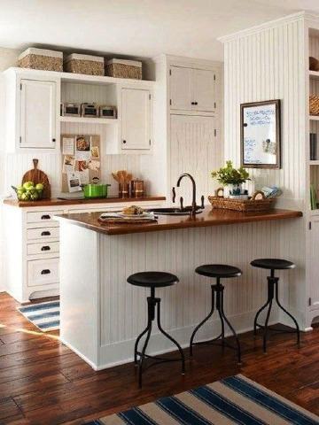 diseños de cocinas pequeñas sencillas