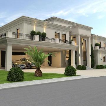diseños de fachadas de casas grandes