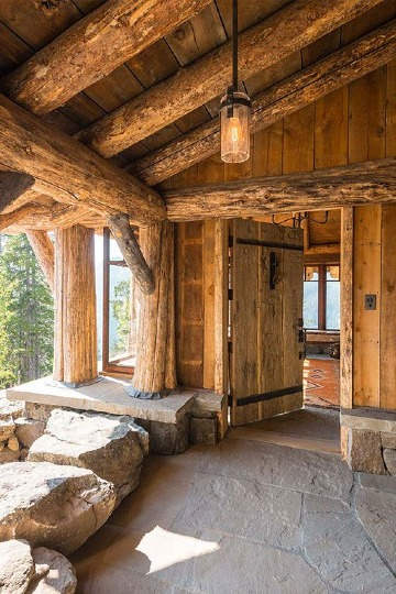 fotos de casas de campo por dentro