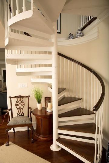 fotos de modelos de escaleras para casas pequeñas