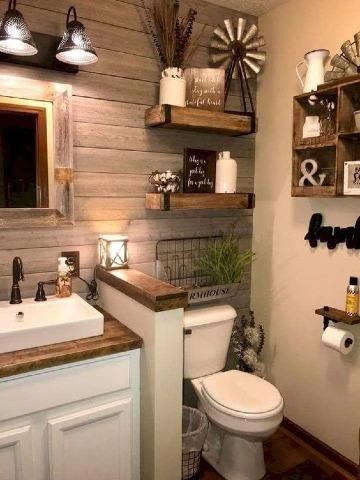ideas de como decorar un baño pequeño
