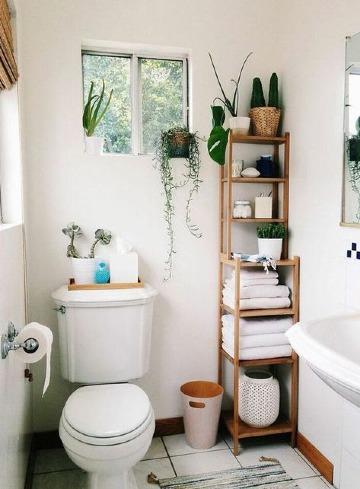 imagenes de como decorar un baño pequeño