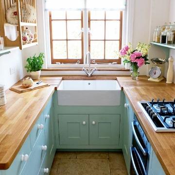 imagenes de diseños de cocinas pequeñas
