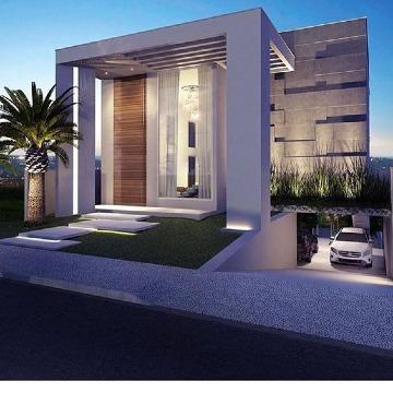 imagenes de fachadas de casas lujosas