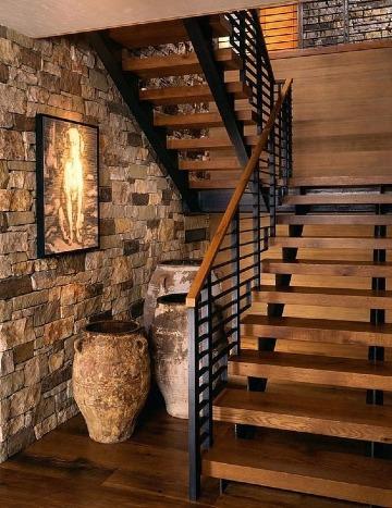 modelos de escaleras para casas pequeñas de madera