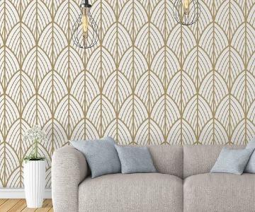 paredes pintadas con diseños elegantes