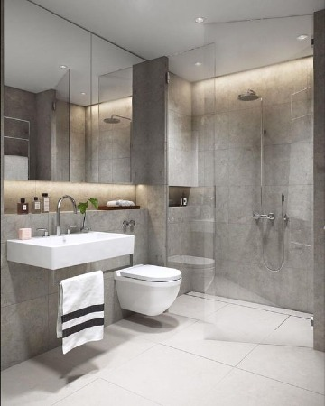 fotos de decoracion de baños pequeños y sencillos