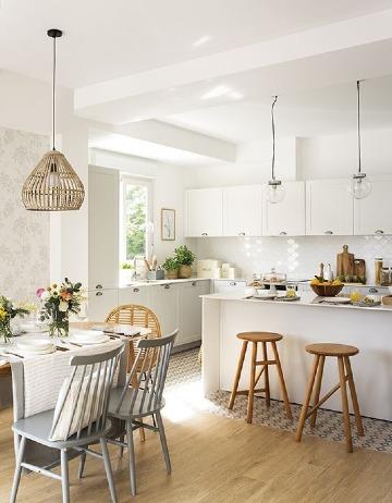 fotos de diseños de cocinas comedor