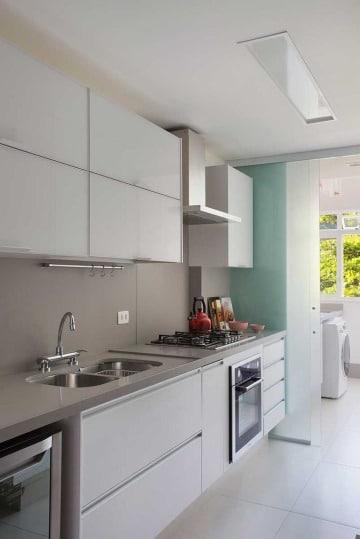 fotos de muebles de cocina en melamina modernos