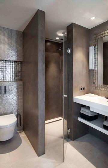 ideas para decoracion de baños pequeños y sencillos