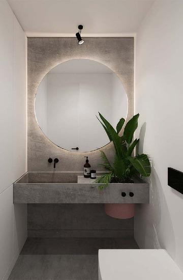 modelos de espejos para baños modernos