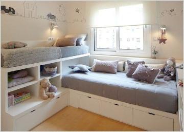 modernas habitaciones para niños en espacios pequeños