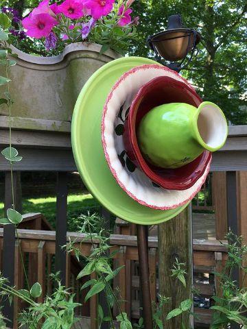 adornos para patios y jardines arte ceramica