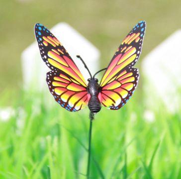 adornos para patios y jardines mariposas
