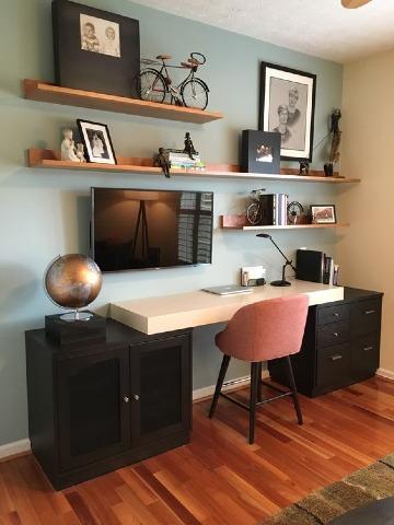 como organizar una oficina pequeña en casa