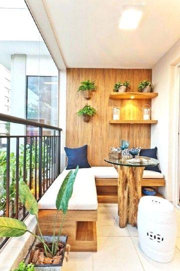 decoración de terrazas interiores comodas