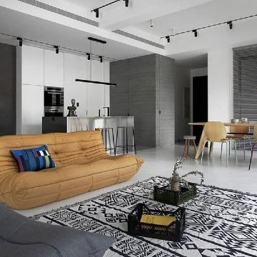 diseños de epartamentos estilo minimalista