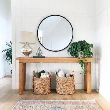 fotos de decoracion de recibidores modernos