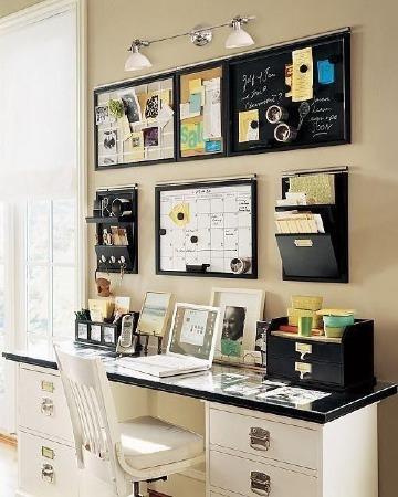 ideas de como organizar una oficina pequeña