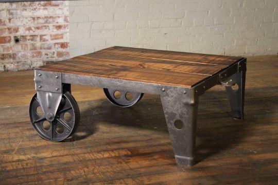 mesas de centro originales y baratas rusticas