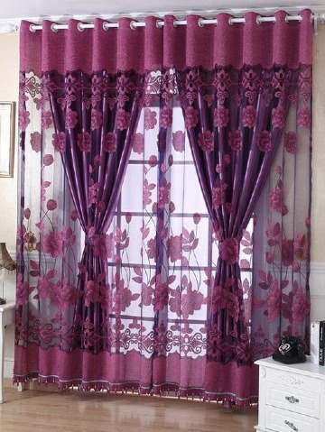 modelos de cortinas decorativas para sala modernas