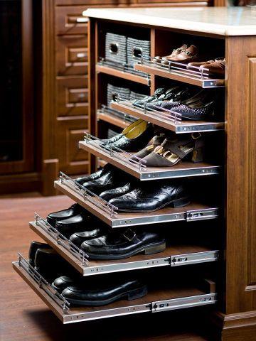 zapateros de madera originales compartimento