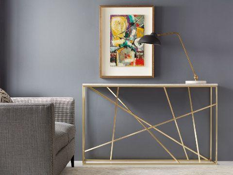 consolas modernas para pasillos artisticas