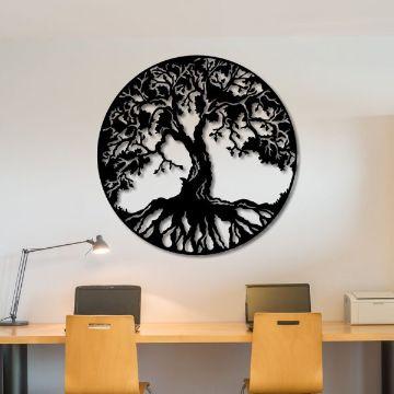 decoracion con circulos en paredes originales adornos