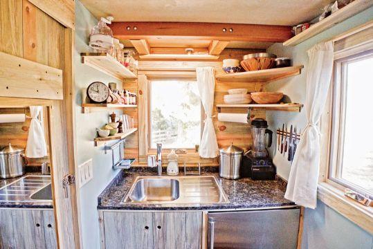decoracion de cocinas pequeñas y economicas casa rodante